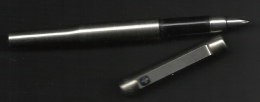 """U K,  Parker Fountain Pen,  """"Yhdyspanki"""" Ad. - Stylos"""