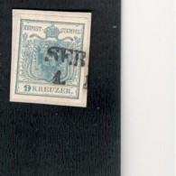Austria1850:Michel5y On Piece - Usados