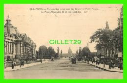 ADVERTISING - PUBLICITÉ - LES GRANDS MAGASINS DU BON MARCHÉ, PARIS - CIRCULÉE EN 1904 - GRAND & PETIT PALAIS - - Publicité