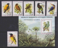 Sao Tome E Principe 1979 Birds 6v + M/s Used Cto (F3813) - Sao Tome En Principe