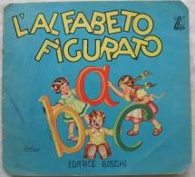 319/169  LIBRETTI PER BAMBINI L´ALFABETO FIGURATO A B C SARA VALDI EDITRICE BOSCHI ANNI 70 - Books, Magazines, Comics