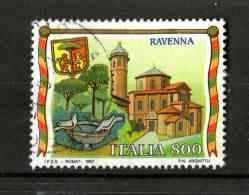 ITALIA - Turistica 24a Serie   RAVENNA   1 Val.   USATO  Emissione  Del   17.05.1997 - 1991-00: Afgestempeld