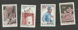 Dahomey N°235 à 238 Neufs** Cote 5.25 Euros - Bénin – Dahomey (1960-...)