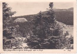 AK Riesengebirge - Jugendstammhaus Rübezahl - Stempel Jugendstammhaus - 1938 (24990) - Schlesien