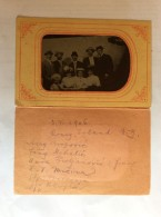 TIN PHOTO     CONEY ISLAND    1906.   8 X 5 CM. - Persone Identificate