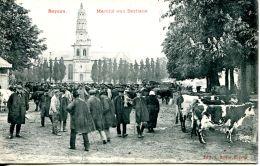N°61 J -cpa Bayeux -marché Aux Bestiaux- - Fiere