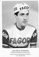 V4648 CP Cyclisme   José Maria Errandonea - Ciclismo