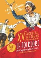 ILLUSTRATEUR MICHAËL CROSA POUR LE SALON MULTI COLLECTIONS DE LA SEYNE VAR - Bourses & Salons De Collections