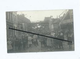 Carte Photo à Identifier : Roubaix Pont De Mouveaux - Roubaix