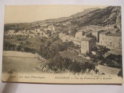 1481   Les Alpes Pittoresques  SISTERON  Vue  Du Faubourg De La Beaume - Sisteron
