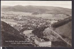 Zella - Mehlis Blick Vom Reisgenstein Auf Zella - Mehlis Und Mercedes - Werk 1934 - Zella-Mehlis