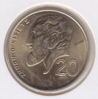 @Y@    Cyprus   20  Mills    1998 Unc    (3096) - Chypre