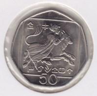 @Y@    Cyprus   50  Mills    1998 Unc    (3097) - Chypre