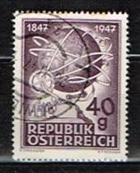 AUTRICHE /Oblitérés/Used/1947 - Centenaire Du Télégraphe Autrichien - 1945-.... 2. Republik