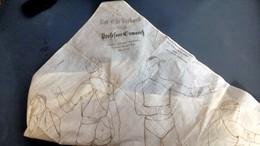 écharpe Triangulaire Médic Allemand Ww1 - 1914-18