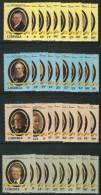 LIBERIA 1981 39 U.S. PRESIDENTS (4 COMPLETE SETS ) 901-10,912-21,923-31,933-42 MNH VALUE US $27. - Liberia