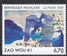 FRANCE Francia Frankreich - 1995 - Yvert 2928, œuvre Originale De Zao Wou-Ki, Neuf, Parfait - Nuevos