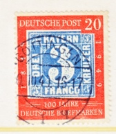 GERMANY  667    (o)   STAMPS  ON  STAMPS - [7] Federal Republic