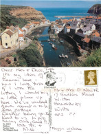 Staithes, Yorkshire, England Postcard Posted 2007 Stamp - Other