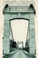 81 SAINT-PAUL CAP De JOUX  Le Pont Suspendu De Viterbe - Saint Paul Cap De Joux