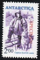 Antarctica Post Captain Scott Specimen Overprint - New Zealand