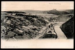 6657 - Alte Ansichtskarte - Balduinstein A. L. - Schloss Schaumburg - N. Gel - Verlag Meckel - Diez