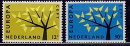 Netherlands, 1962, CEPT, Europa, Sc#394-95, MNH - Europa-CEPT