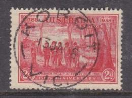 Australia, GVR,1938 Sydney Cove, 2d, Used KOROIT VIC 13 JA 38 C.d.s. - 1913-36 George V : Other Issues
