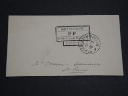 SAINT PIERRE ET MIQUELON - Enveloppe En PP De 1926 Pour St Pierre - A Voir - L 2771 - Lettres & Documents