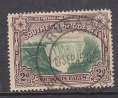 Southern Rhodesia: 1935, 2d Perf 14, RUSAPE 18 SEP 45 C.d.s. - Rhodésie Du Sud (...-1964)