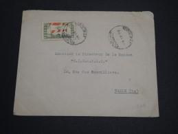 LIBAN - Enveloppe De Beyrouth En 1946 Pour Paris , Affranchissement Plaisant Recto Et Verso - A Voir - L 2779 - Liban