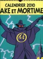 Calendrier 2010 Black Et Mortimer  Desinge & Hugo  Spiralee 31x44 Cm Magnifique - Blake Et Mortimer