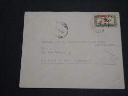 LIBAN - Enveloppe De Beyrouth Pour Paris En 1946 , Affranchissement Plaisant Recto Et Verso - A Voir - L 2781 - Liban