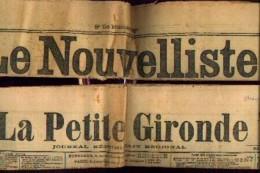 France Du SUD OUEST - Eventail De 25 Journaux Anciens (1911 - 1913 - 1920) - Revues & Journaux