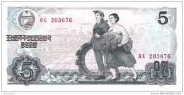 North Korea - Pick 19c - 5 Won 1978 - Unc - Corea Del Nord