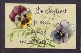 CPA 84 - SEGURET - De Séguret , Je Vous Envoie Ces Fleurs - TB CP Fantaisie Sur Le Village - France