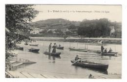YVELINES  /  TRIEL  /  LA  SEINE  PITTORESQUE  /  PÊCHE  à  LA  LIGNE - Triel Sur Seine