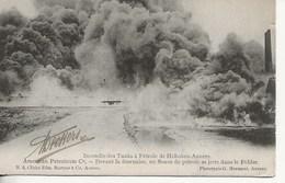 Hoboken-Incendie Des Tancks à Pétrole :Devant La Fournaise.... - Unclassified