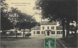 CHATILLON-sur-LOIRE - L'Avenue De La Gare -ed. L Marchand - Chatillon Sur Loire