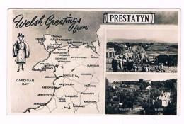 Cpsm - WELSH  GREETINGS   From  PRESTATYN    - 2935 - Flintshire