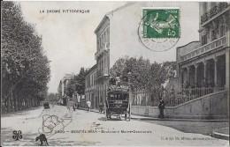 MONTELIMAR DROME 2599 BOULEVARD  MARRE-DESMARAIS  DILLIGENCE  ED. MTIL  ECRITE CIRCULEE 1908 - Montelimar