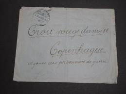 HONGRIE - Enveloppe De Prisonnier Du Camp De Privigye Pour La Croix Rouge à Copenhague En 1928  - A Voir - L 2805 - Marcophilie