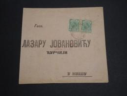 SERBIE - Enveloppe ( Retaillée ) Avant 1900 - A Voir - L 2835 - Serbia