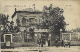 ROISSY EN FRANCE (95) - La Poste - POSTES - CAISSE NATIONALE D´ EPARGNE - Ed. Laroche, L´ Abbaye-Livry-Gargan - Roissy En France