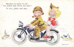 Illustrateur  JANSER---monsieur Le Maire L'a Dit :une Femme Doit Suivre Son Mari !--voir 2 Scans - Janser