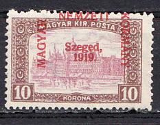 HUNGARY,SZEGED , 10 KORONA MNH - Szeged