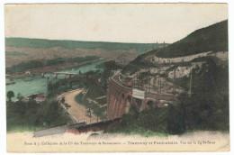 BONSECOURS Tramway Et Funiculaire Vue Sur Le Faubourg St-Sever - Bonsecours