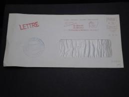 FRANCE - Enveloppe De Laigle Pendant La Grêve Des PTT En 1974 Cachet Chambre De Commerce Alençon - A Voir - L 2842 - Marcophilie (Lettres)