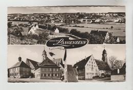 CPSM LANGENZENN (Allemagne-Bavière) - Gruss Aus.....3 Vues - Langenzenn