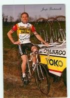 Joop ZOETEMELK, Autographe Manuscrit, Dédicace . 2 Scans. Cyclisme. Kwantum - Radsport